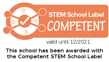 Stem School Label Competent